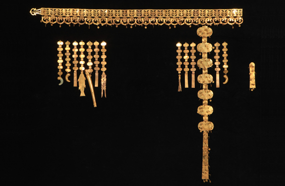 Queen's Belt, Silla, North Mound of the Hwangnamdaechong Tomb, Length: 120cm, National Treasure 192