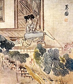 1월의 문화인물 - 신윤복전