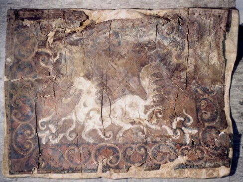 Jangni cheonmado (Painting of Heavenly Horse on a Saddle Flap) from Cheonmachong Tomb, Gyeongju image